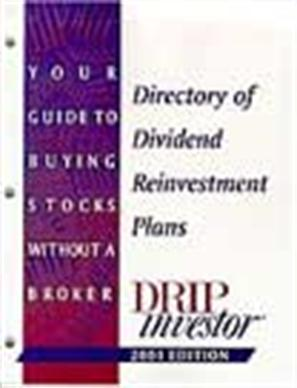 Directory of Dividend Reinvestment Plans
